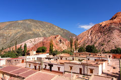 Purmamarca in Salta royalty free stock images