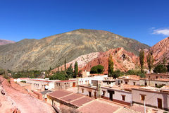 Purmamarca in Salta Royalty Free Stock Photography