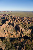 Purnululu aerial view Royalty Free Stock Photo