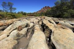 Purnululu (Bungles) di Bungle NP Australia Fotografia Stock