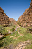 Purnululu hiking Stock Images