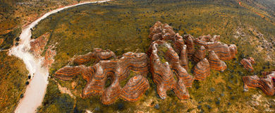 Purnululu National Park (The Bungle Bungle) Royalty Free Stock Image