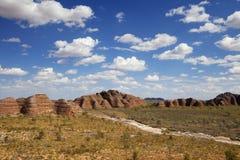 Purnululu National Park, Western Australia on a sunny day Royalty Free Stock Photo