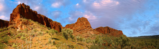 Purnululu park in western australia Royalty Free Stock Images