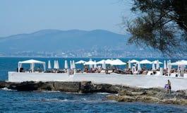 Puro beach club Stock Images