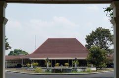 The puro pakualaman palace, yogyakarta. Pura Pakualaman is a Kadipaten (regency) Palace as well as the dwelling of all generations and family of Pakualam Royalty Free Stock Images