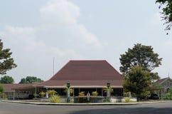 The puro pakualaman palace, yogyakarta. Pura Pakualaman is a Kadipaten (regency) Palace as well as the dwelling of all generations and family of Pakualam Stock Image