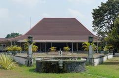 The puro pakualaman palace, yogyakarta. Pura Pakualaman is a Kadipaten (regency) Palace as well as the dwelling of all generations and family of Pakualam Royalty Free Stock Photo