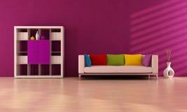 Purole contemporary living room Stock Photos