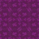 Purper bladpatroon Royalty-vrije Stock Afbeelding