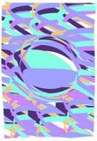 Purper blauw patroon Stock Afbeeldingen