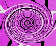 Purper Criss Cross Vortex Background royalty-vrije illustratie