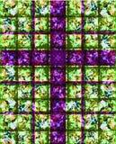 Purper DwarsGebrandschilderd glas royalty-vrije illustratie
