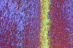 Purper en geel mozaïekpatroon Stock Afbeeldingen