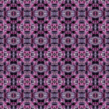 Purper en roze abstract lapwerkpatroon Stock Afbeelding