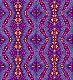 Purper Etnisch Patroon vector illustratie