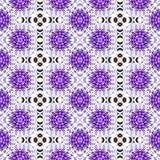 Purper naadloos abstract patroon Stock Afbeelding