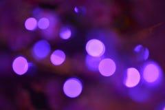 Purper onscherp licht stock foto