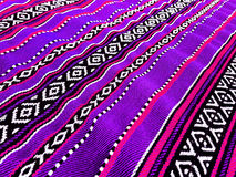 Purper Traditioneel Tapijt Royalty-vrije Stock Foto