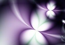 Purper van de Bloem Abstract Behang Als achtergrond Stock Foto