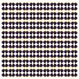 Purper zweempje, Zebrasoma-xanthurum, in herhaald patroon royalty-vrije stock foto's