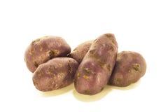 Purpere aardappels Royalty-vrije Stock Afbeeldingen