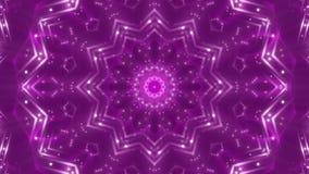 Purpere abstracte achtergrond, opvlammend licht, lijn stock videobeelden