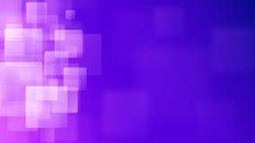 Purpere abstracte achtergrond van onscherpe vierkanten Stock Foto's