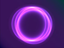 Purpere abstracte cirkel Royalty-vrije Stock Afbeelding
