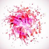 Purpere abstracte verf splat royalty-vrije illustratie