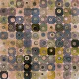Purpere abstracte vierkantenachtergrond Royalty-vrije Stock Foto's
