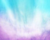 Purpere Blauwe Wolkensamenvatting Stock Afbeelding