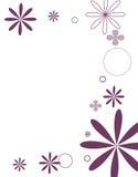 Purpere bloemen royalty-vrije illustratie