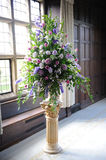 Purpere bloemen bij huwelijk. Royalty-vrije Stock Fotografie