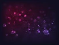 Purpere cirkel abstracte lichte achtergrond Stock Afbeelding