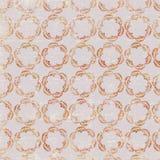 Purpere cirkel grafisch herhaalt patroon met uitstekende ventilators Royalty-vrije Stock Afbeelding