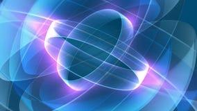 Purpere en Blauwe Abstracte Motieachtergrond vector illustratie