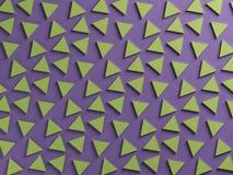 Purpere en groene twee kleuren geweven achtergrond Stock Afbeelding