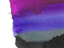 Purpere en zwarte abstracte achtergrond Stock Illustratie