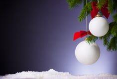 Purpere Feestelijke Kerstmisachtergrond stock afbeelding