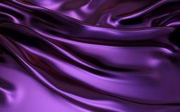 Purpere Golvende vouwen van van het de textuursatijn van de grungezijde het fluweel materiële of luxueuze achtergrond of elegant  vector illustratie