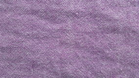 Purpere katoenen stof Stock Foto