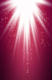 Purpere lichte uitbarsting Vector Illustratie