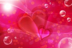 Purpere liefde Royalty-vrije Stock Afbeeldingen