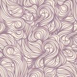 Purpere lijnwervelingen vector illustratie