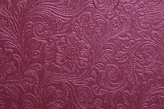 purpere patroondocument textuur Royalty-vrije Stock Foto's