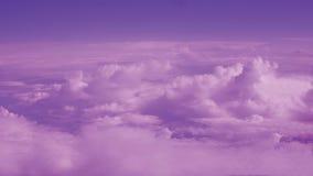 Purpere van de Wolkenhemel Abstracte Foto Als achtergrond royalty-vrije stock foto's