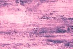 Purpere vlekken op een roze canvas Roze verfvlekken op de muur Abstract patroon van waterverfstijl op roze achtergrond Abstracte  stock illustratie