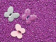 Purpere vlinders Royalty-vrije Stock Fotografie