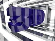 Purple 3D Design Stock Images